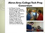 akron area college tech prep consortium1