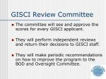 gisci review committee1