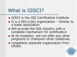 what is gisci