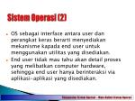 sistem operasi 2