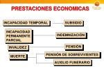 prestaciones economicas