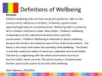 definitions of wellbeing2
