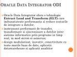 oracle data integrator odi