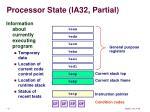 processor state ia32 partial