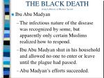 the black death from a history of western society10