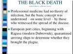 the black death from a history of western society13