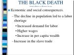 the black death from a history of western society14