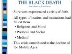 the black death from a history of western society16