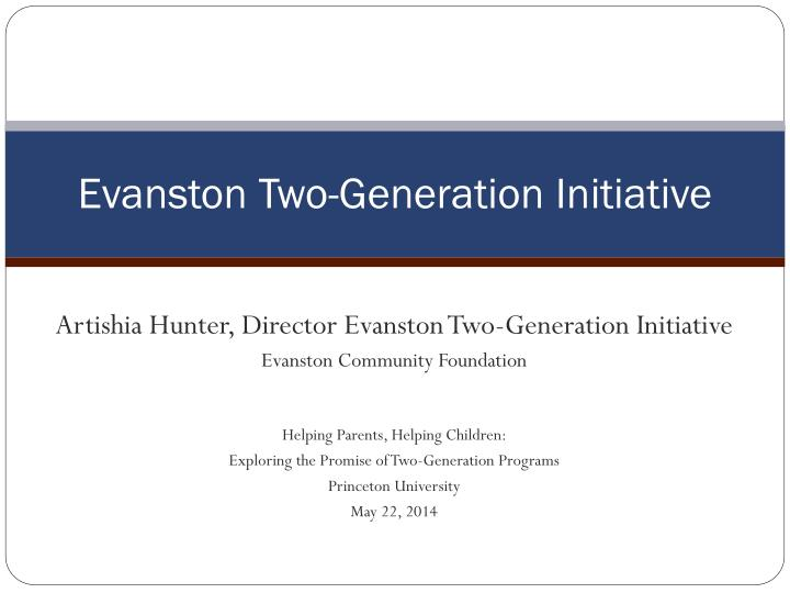 evanston two generation initiative n.