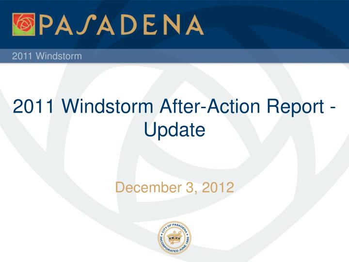 2011 windstorm after action report update n.