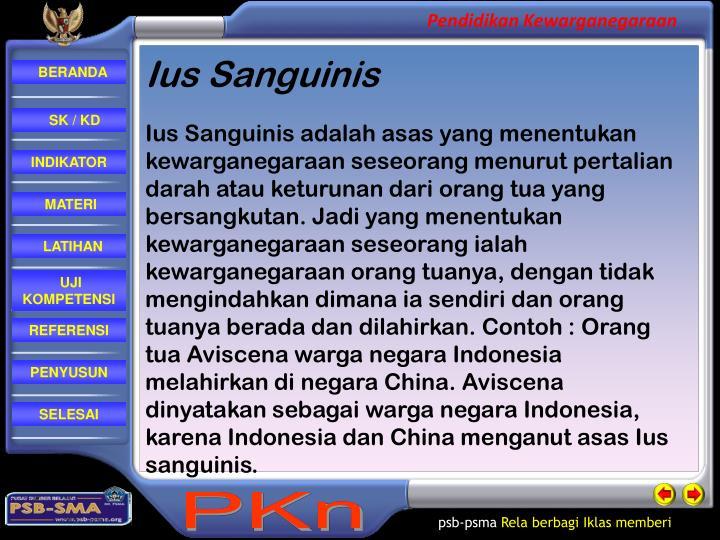 Ius Sanguinis