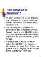 how disabled is disabled