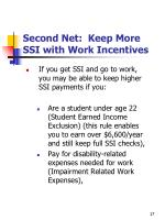 second net keep more ssi with work incentives