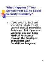 what happens if you switch from ssi to social security disability