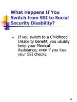 what happens if you switch from ssi to social security disability1