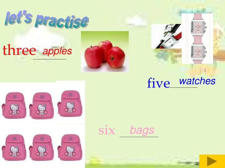 let's practise