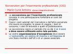 sovvenzioni per l inserimento professionale cig marie curie actions career integration grants1