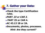 7 gather your data