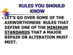 rules you should know