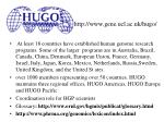 http www gene ucl ac uk hugo