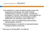 logika projektowa projekt