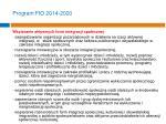 program fio 2014 20204