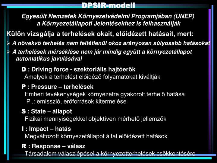 DPSIR-modell
