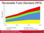renewable fuels standard rfs1