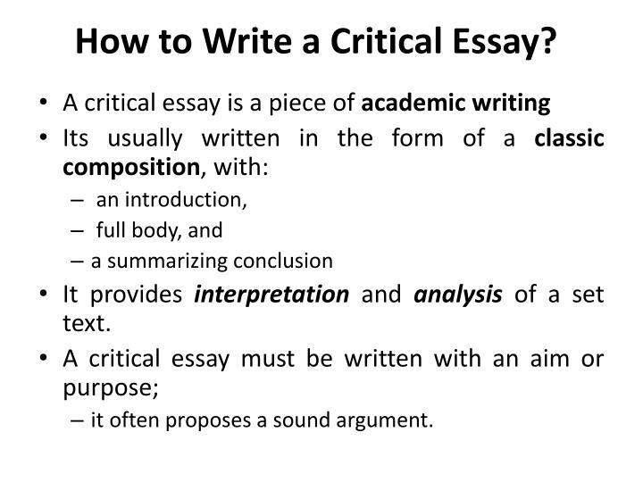Critical Essay Sepang Loca  Essay Academic Writing Service  Critical Essay Sepang Loca