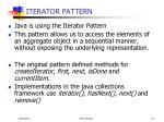 iterator pattern