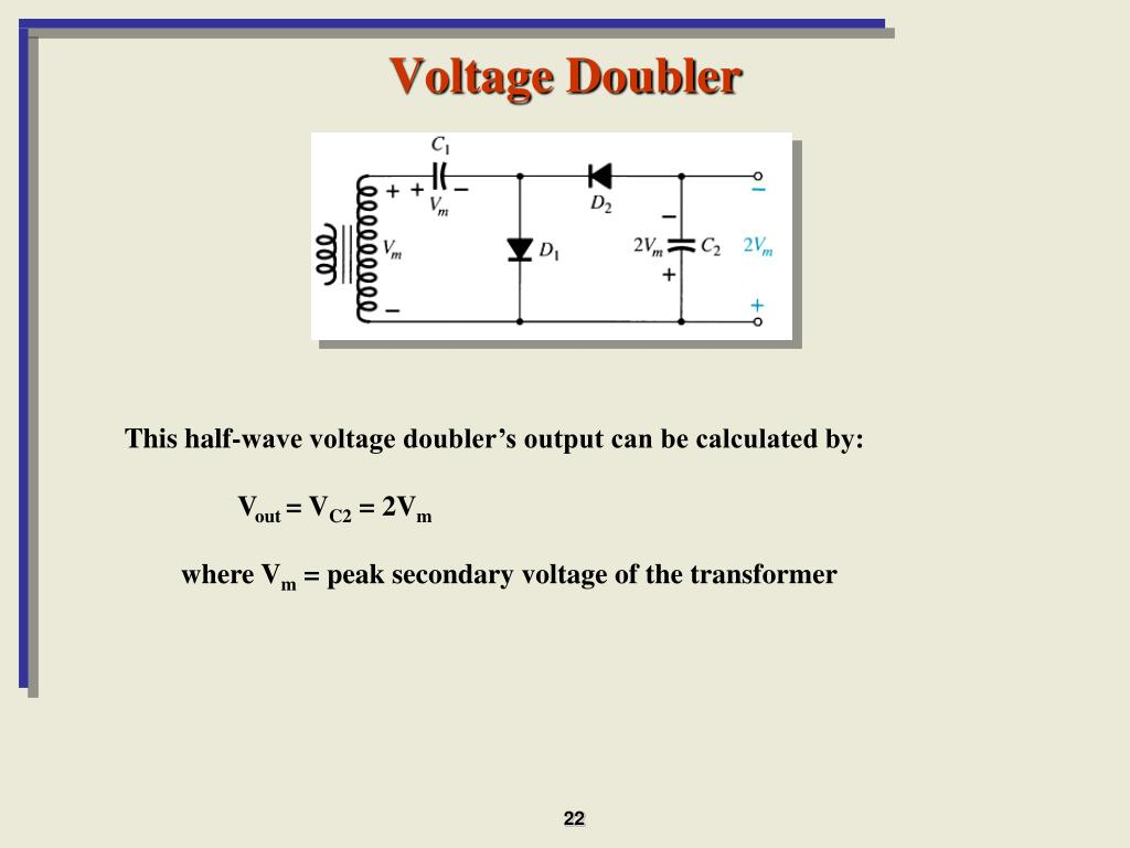 PPT - Chapter 2: Diode Applications PowerPoint Presentation - ID:5611375