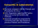 consortia laboratories