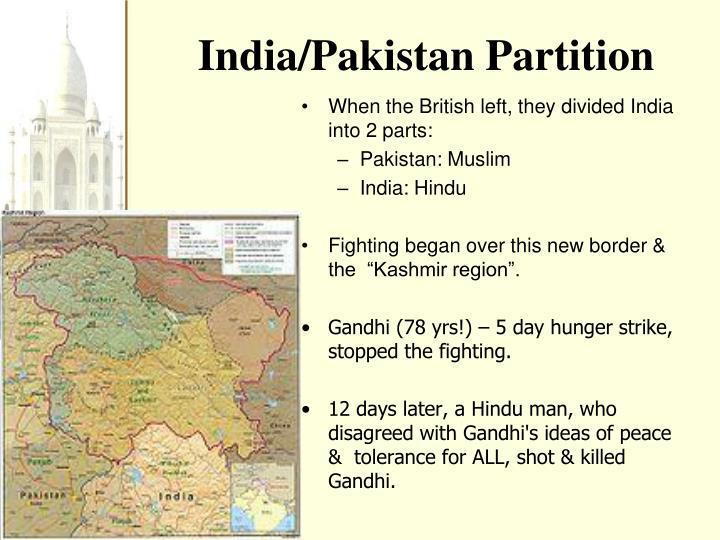 India/Pakistan Partition
