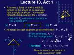 lecture 13 act 11