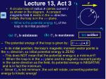 lecture 13 act 32