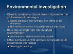 environmental investigation1
