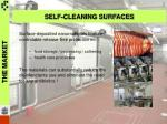 self cleaning surfaces