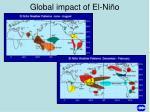 global impact of el ni o