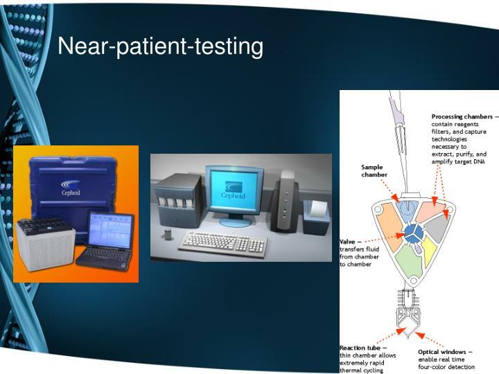 Near-patient-testing