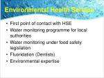 environmental health service
