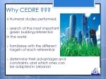 why cedre1