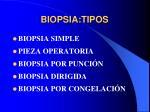 biopsia tipos