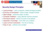 security design principles