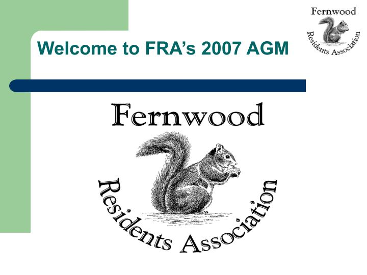 welcome to fra s 2007 agm n.