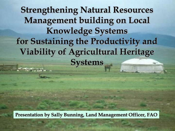 agricultural science and resource management in The natural resource science and management degree addresses the science, art, and craft of creating, managing, using, conserving, and repairing natural and human-dominated ecosystems, in a sustainable manner, to meet desired societal goals.