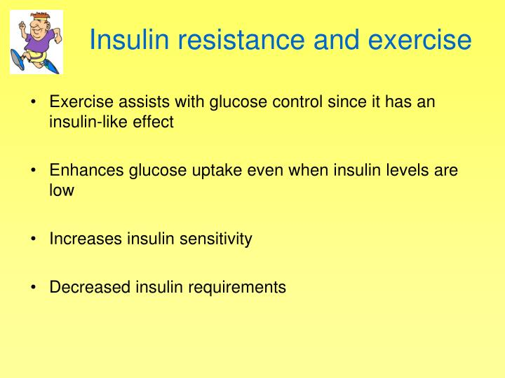 Insulin resistance and exercise