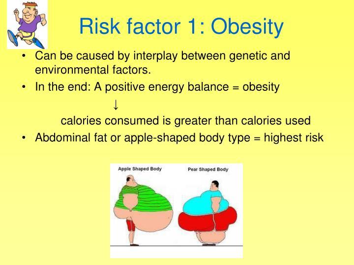 Risk factor 1: Obesity