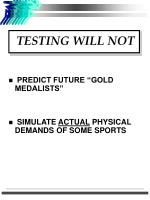 testing will not