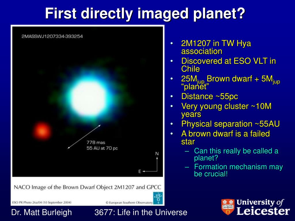 PPT - Life in the Universe: Extra-solar planets PowerPoint