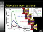 alternative muon systems